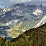 Sunshine and Cloud Shadows Across a Mountainside (Banff National Park) thumbnail