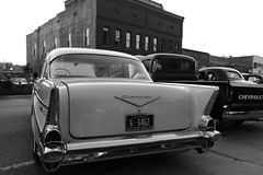 1957 (Todd Evans) Tags: canon 77d efs1855mmf456isstm chevrolet chevy 1957 blackandwhite bw auto automobile