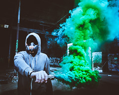 IMG_9154-2 ([ YOANNOLIVIER | Photographie ]) Tags: smokes grenades urbex exploration mask