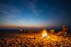 Campfire at Ntwetwe Pan (NettyA) Tags: 2017 africa botswana makgadikgadibasin menoakwena ntwetwepan campfire clouds night nightscape outdoorkitchen saltpan sky stars sunset travel