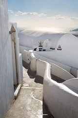 Traditional Architecture in Santorini Island (fesign) Tags: architecturalfeature architecture buildingexterior builtstructure day europe firá greece greekculture greekislands hotel mediterraneanculture outdoors path photography resort santorini town tradition traveldestinations vacation vertical white