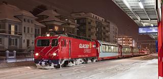 10.12.17 | HGe 4/4ii 106, Brig Bahnhofplatz