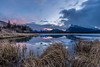 Vermillion Lake Sunrise (deirdre.lyttle) Tags: alberta banff banffnationalpark canada mountains sunrise vermillion lakes reflections mount rundle rockies