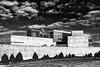 Secret place (martinpmayer) Tags: seoul korea jeju mono blackandwhite sw concret beton building fuji fujix