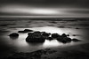 Pacific Sadness (StefanB) Tags: 2017 bw california coast em5 geotag longexposure monochrome pacific santacruz seascape fourmilebeach ocean sea