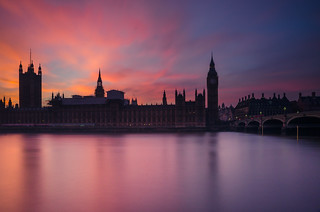 �Palace of Westminster in the Sunset Glory 🇬🇧�