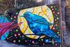 Blue Bird (W9JIM) Tags: art w9jim bird bluebird tecate mexico 5d4 24105l 105mm blue mural
