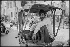 rickshaw puller (Paul Swee) Tags: portrait rickshaws varanasi india paulswee summilux35 leicam10 streetphotography