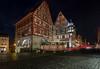 Storybook (Tazmanic) Tags: rothenburg rothenburgobdertauber bavaria germany romanticroad buildings street nightshot cobblestone longexposure