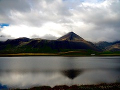 Reflecting the triangle (jaisril) Tags: mr reflection iceland