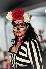 LA Day of the Dead 2017 (Eras Photography) Tags: dayofthedead ladayofthedead facepaint skeletons skeletonfacepaint facialpaint facialart westhollywood hollywoodforevercemetery eldiadelosmuertos dayofthedead2017