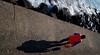 Al molo (meghimeg) Tags: 2017 portomaurizio donna woman passeggiata walk mare sea ombra shadow sole sun molo pier