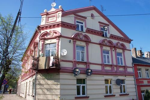 Kamienica (1928, Sienkiewicza 15) w Łęczycy