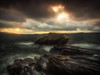 Eventide (lloydich) Tags: elgol sunset tide waves rocks mood cold
