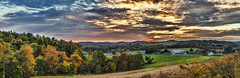 IMG_0913-19Ptzl1TBbLGER (ultravivid imaging) Tags: ultravividimaging ultra vivid imaging ultravivid colorful canon canon5dmk2 clouds landscape fall autumn autumncolors scenic farm fields barn evening pennsylvania pa sky sunsetclouds sunset panoramic painterly