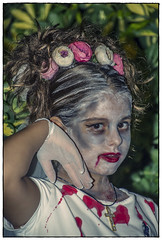 HALLOWEEN (BLAMANTI) Tags: halloween novia zombi disfraz difuntos miedo retrato pentax pentaxkx