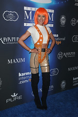 2017 MAXIM Halloween Party (Mosqueteras, Thigh high boots) Tags: redcarpet losangeles california unitedstates