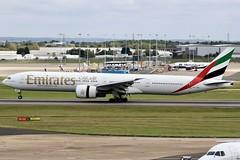 Emirates Breaks The Mould... Again! (Ben Cavers) Tags: emirates boeing77731her boeing777300er boeing777 boeing 77731her 777300er 777 emiratesboeing777 emirates777 a6eba tripleseven triple7 birminghamairport bhx egbb widebodyjet widebody passengerjet jet jetliner commercialairliner airliner commercialaviation aviation aircraft airplane plane