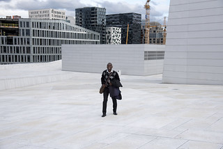 Oslo Opera House roof, Norway