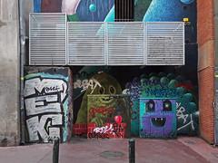 street art in toulouse (maximorgana) Tags: street art graffiti toulouse
