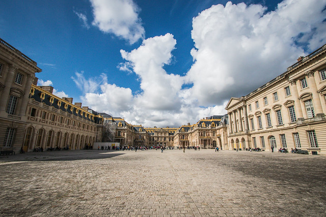 The Interior Courtyard: Palace at Versailles