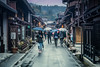 Old Town (Channed) Tags: asia japan takayama sanmachisujidistrict street town shop rain rainy umbrella channedimages chantalnederstigt flickrexplore explore sundaylights people