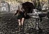 Just a little bit of rain (sapphirecollins) Tags: liquid warmyourheart entice rain umbrella autumn water