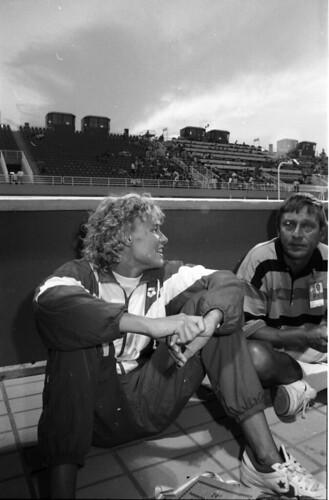 357 Swimming EM 1991 Athens