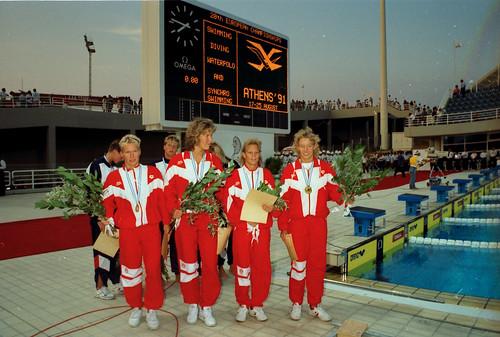 472 Swimming EM 1991 Athens