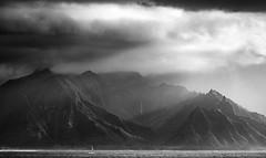 Dramatic Na Pali Coast || Kauai (David Marriott - Sydney) Tags: waimea hawaii unitedstates us kauai na pail coastline caost waterfall cloud rain