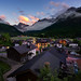 Moos Village (martin.matte) Tags: dolomiten alpen dolomites dreizinnen mountains landscape nature village bergdorf idylle wolken himmel sommer sunset sesto mosso