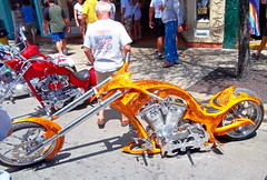 Bike Weekend. Key West 2011 (Roy Richard Llowarch) Tags: keywest keywestflorida keywestpokerrun keywestbikeweek keywestbikeweekend duvalstreet duvalstreetkeywest bike bikes bikers motorcycle motorcycles chopper choppers harleydavidson florida floridakeys thefloridakeys color colour colorful colourful streets summer sunshine sun usa american america americandream streetparty streetparties fun petrolheads royllowarch royrichardllowarch llowarch outdoor places beautifulplaces people money red white blue orange black travel travelling tropical tropicallife tropics tropicalliving party adultfun adultparty vacation vacations holidays holiday