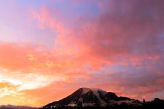 Mount Rainier (garshna) Tags: mountrainier mtrainier mountrainiernationalpark nikon washingtonstate landscape clouds glaciers