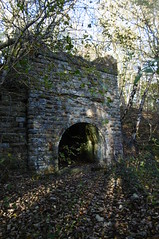 Silkstone - Wath old railway    November 2017 (dave_attrill) Tags: kiln stone structure abandoned great central railway electrified woodhead sheffield victoria manchester picadilly closed 1970 1955 stocksbridge engine transpennine upper don trail penistone wortley wadsley neepsend dunford bridge thurgoland tunnel oxspring barnsley junction huddersfield allweather cycleway bridleway footpath remains silkstone 2016 1981 dove valley no1 road tree grass sky worsbroughbranch