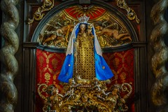 Kevelaer Kerzenkapelle - Marienaltar (Thomas Velten) Tags: basilika kevelaer nordrheinwestfalen deutschland wallfahrtsort heilige maria