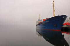 Faktor i Åkra juni -17 (bjarne.stokke) Tags: norway norge norwegen skip ship faktor fog speiling reflections hordaland