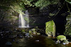 gibsons_cave-teesdale060 (Terry Smith2012) Tags: light painting evening night time gibsons cave waterfall teesdale england