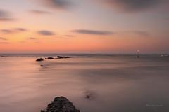 六塊厝漁港 (Lavender0302) Tags: 夕陽 雲 六塊厝 屯山 淡水 新北市 台灣 taiwan sunset clouds