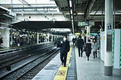 Tokyo Life4 (Pop_narute) Tags: normal street life tokyo japan train station railway people japanese trainstation