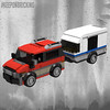 RED Van & Caravan (KEEP_ON_BRICKING) Tags: lego city moc mod 60117 60182 van carvan trailer minivan red speed champions speedchampions car conceptcar keeponbricking youtube tutorial building instructions howtobuild howtomake