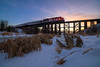 CN Christmas Express 2017 * Day 3 (WherezJeff) Tags: 2017 alberta cnchristmasexpress cnrail stalbert canada ca sunset d850 canadiannational transportation railroad stollery charity distagon1528zf cn5487 sd60