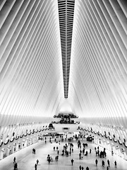 The Oculus (Feldore) Tags: newyork oculus manhattan 911 futuristic shopping centre temple bladerunner