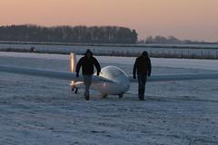 Hanger landing