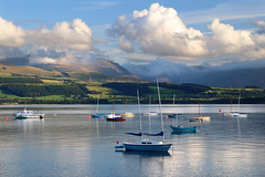Beaumaris Tranquility (PJ Swan) Tags: beaumaris wales anglesey boats summer