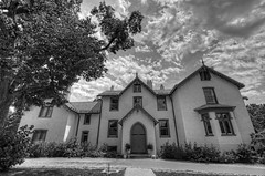 Lincoln Cottage (cmfgu) Tags: presidentlincolnscottage president abrahamlincoln presidentlincolnandsoldiershomenationalmonument washingtondc districtofcolumbia capital home house summerwhitehouse history historic armedforcesretirementhome usa unitedstatesofamerica american nationalhistoriclandmark hdr highdynamicrange bw blackandwhite monochrome greyscale craigfildesfineartamericacom fineartamericacom craigfildespixelscom craigfildesphotography artist artistic photograph photo picture prints art wall canvasprint framedprint acrylicprint metalprint woodprint greetingcard throwpillow duvetcover totebag showercurtain phonecase mug yogamat fleeceblanket spiralnotebook sale sell buy purchase gift