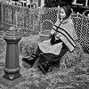 Urk, The Netherlands (puliMexNed) Tags: urk flevoland blackandwhite girl