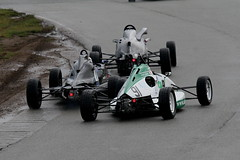 9c - Doe comes under pressure from Cole & Murphy but stands firm (Boris1964) Tags: 2006 clubformulaford northwest anglesey