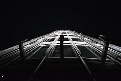 Burj Khalifa Top Floor (Marwanhaddad) Tags: bw dubai burjkhalifa night nightphotography nightscape silhouette