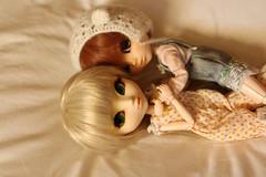 l o v e (Juju DollPassion) Tags: pullip sunset light cocooning paja 2005 jun planning custo custom fc fullcusto fullcustom bed