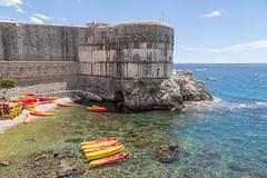 Kula Bokar, Dubrovnik (bruno vanbesien) Tags: croatia dubrovnik hrvatska boat sea hr
